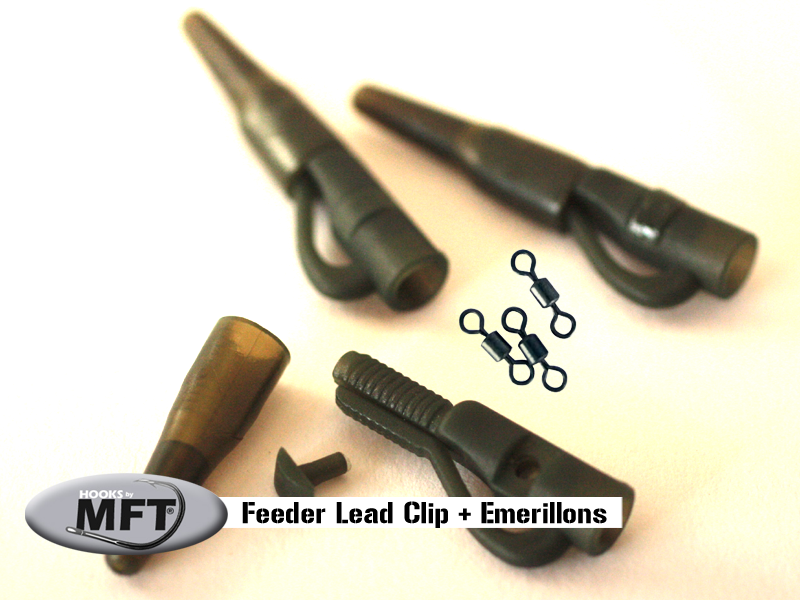 Feeder-lead-clip - Petite taille spèciale Feeder
