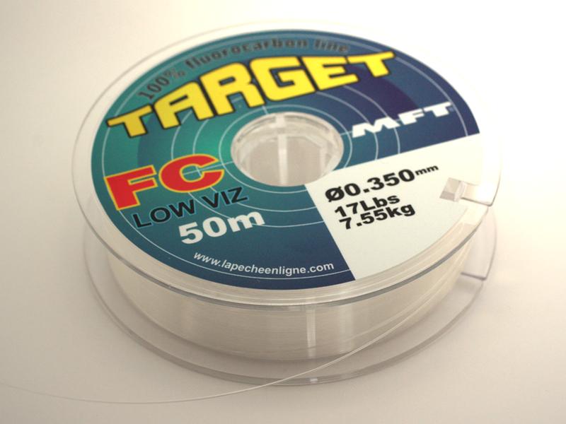 MFT® – Les nouveaux diamètres Ø0.20 et Ø0.25mm TARGET Fluorocarbone sont en stock.!