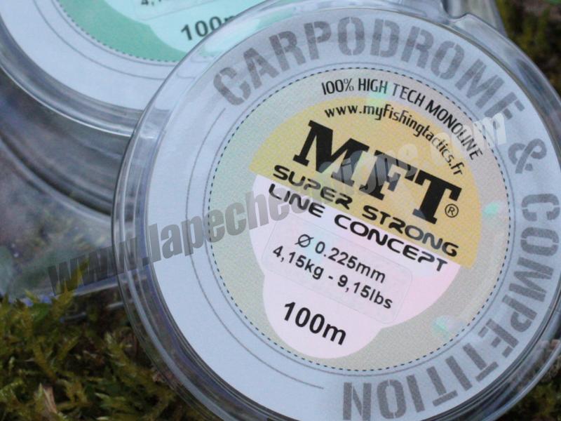 MFT® – Nouveau fil Carpodrome & Compétition – Très haute qualité.